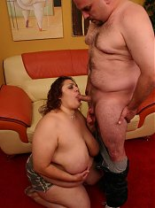 Queen sized bbw Reyna playing with her massive mammas while bumping and grinding on top of a stiff cock