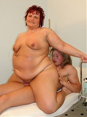 BBW Marta gets fucked in the doctor's office!