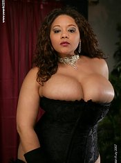 Lady Spice has the tastiest looking breasts capped with the yummiest looking nipples we've seen in a while.
