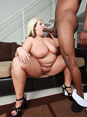 Porsche Dali has a big following of course because she is a BBW who knows what men want.